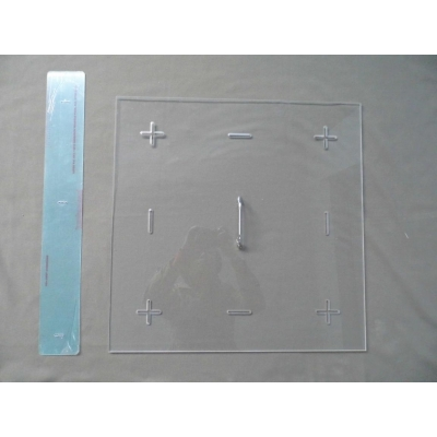 TN1478-1 Shrinkage test board and ruler